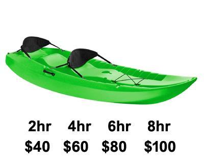 On-Site Kayak Tandem