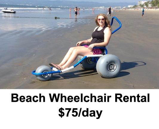 On-Site Beach Wheelchair